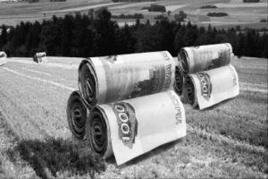 Распределение субсидий в области агрострахования